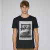 T-shirt rugby Frame noir