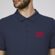 Polo de Rugby strip Navy