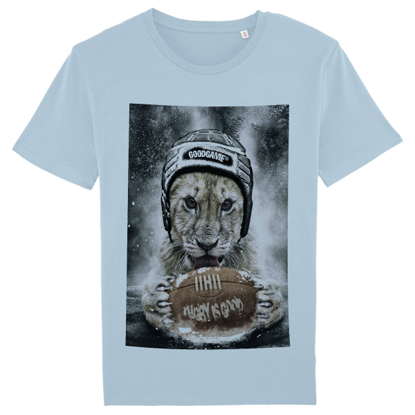 T-shirt rugby Good ciel