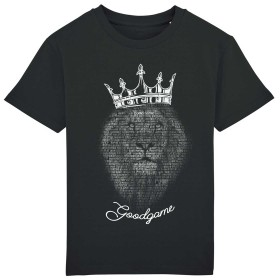 T-shirt rugby lion typo
