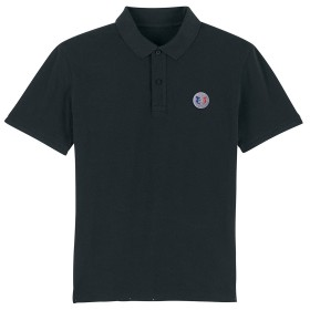 Polo de Rugby Nation Noir