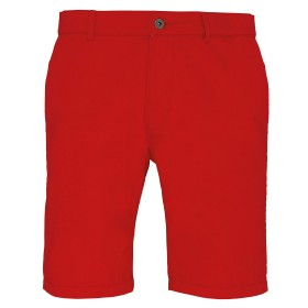 short chino rouge