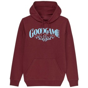 Sweat capuche sigma bordeaux