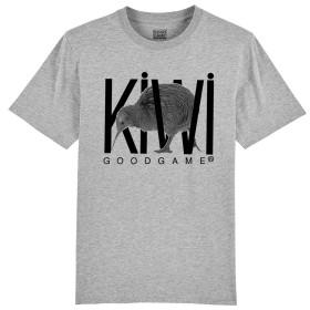 T-shirt Kiwi gris