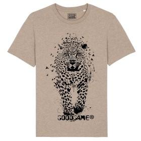 T-shirt leopard sable