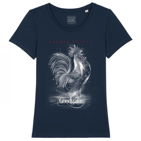 T-shirt  femme  coq