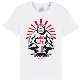 T-shirt rugby sumo