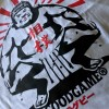 T-shirt rugby sumo Col V blanc
