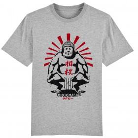 T-shirt sumo gris