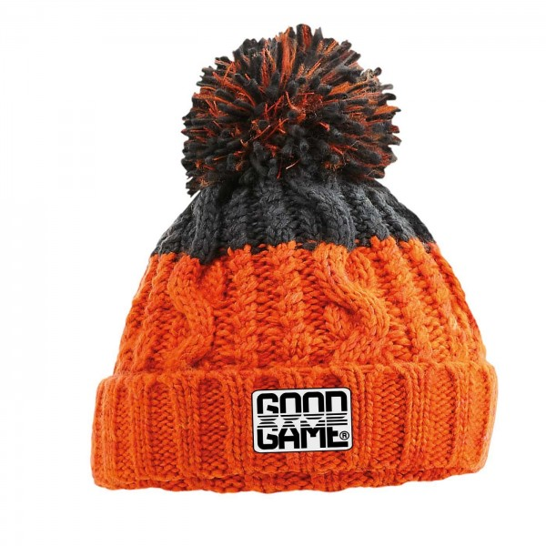 Bonnet rugby alpes Orange