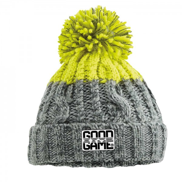 Bonnet rugby alpes citron
