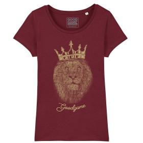 T-shirt  femme  king Or