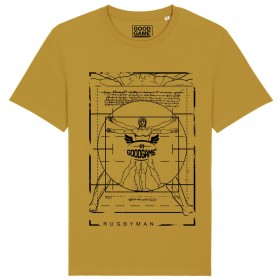 T-shirt unisexe Vitruve ocre