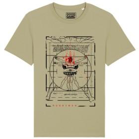 T-shirt unisexe Vitruve Sauge