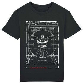 T-shirt unisexe Vitruve black