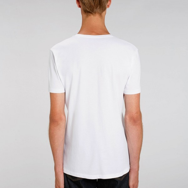 T-shirt  Col V blanc Vitruve | Goodgame®