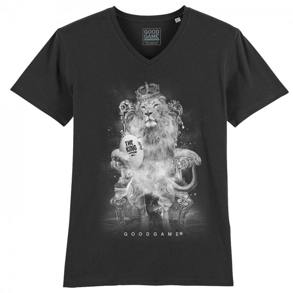 T-shirt  Col V The king