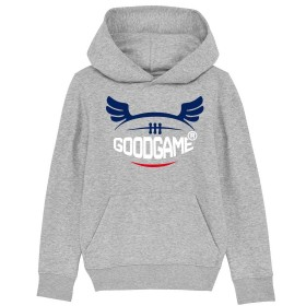 Sweat capuche logo french