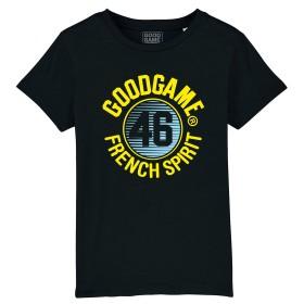 T-shirt noir spirit