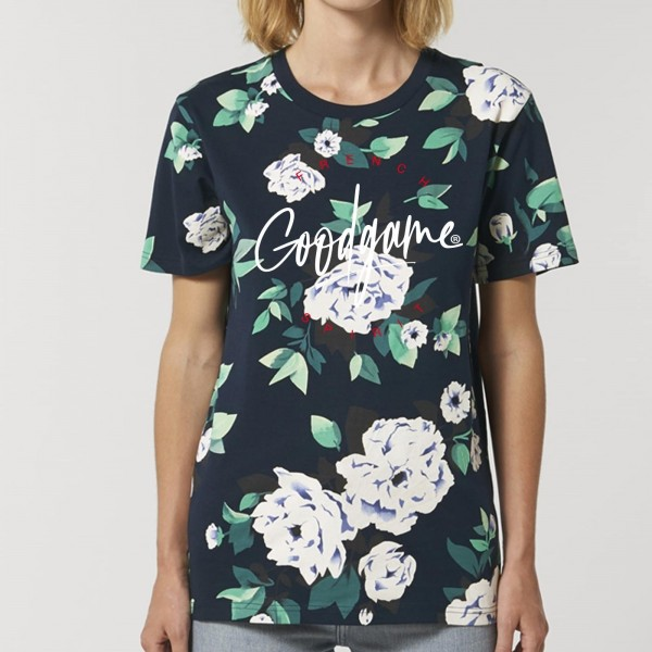 T-shirt unisexe  fleurs spirit