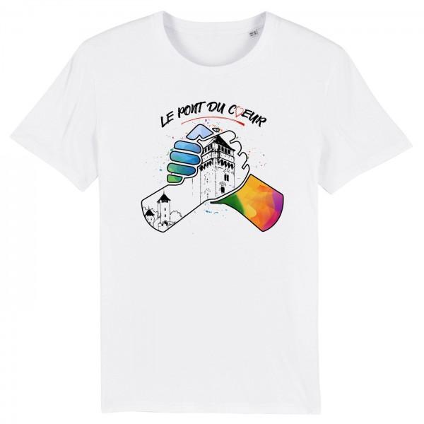 T-shirt le pont du coeur