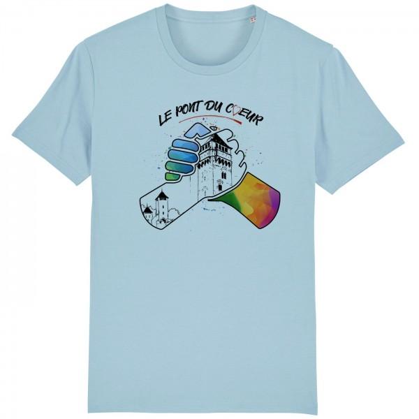 T-shirt  ciel le pont du coeur