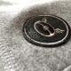 short bermuda badge Gris