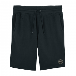short bermuda badge Black