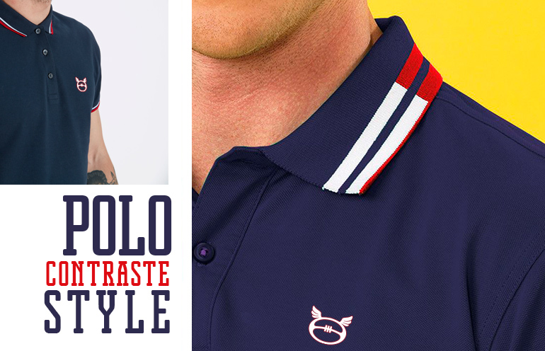 polo de rugby homme